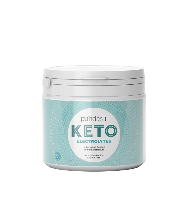 Puhdas+ KETO 200 g Electrolytes jauhe
