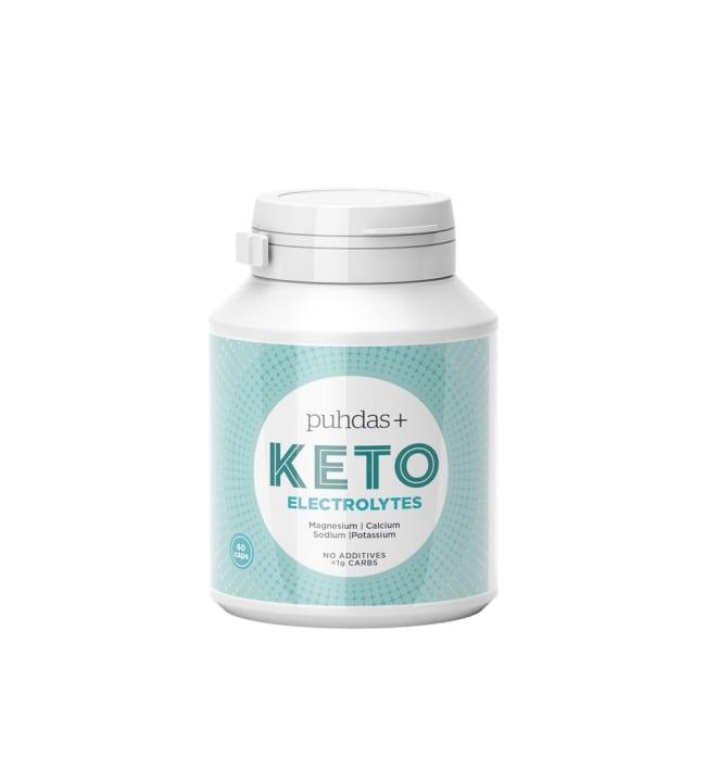 Puhdas+ KETO 60 vegekaps Electrolytes kapseli