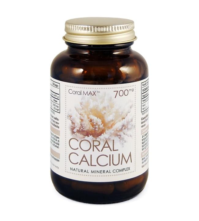 Coral Calcium 700 mg 90 kaps. ravintolisä