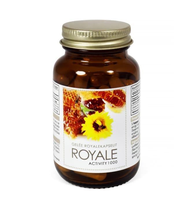 Gelee Royale Activity 1000 60 kaps. Ravintolisä