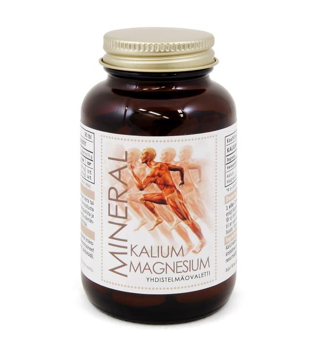 Mineral Kalium Magnesium Multicomplex 60 tabl. ravintolisä