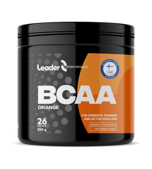 Leader BCAA Appelsiini 250 g ravintolisä