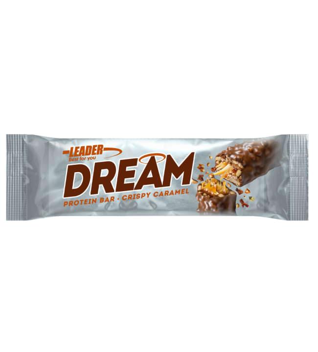 Leader Dream 45 g Crispy Caramel proteiinipatukka