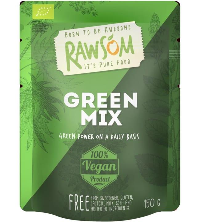 Rawsom Green Mix jauhe 150 g viherjauhe