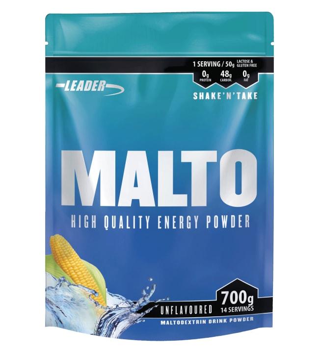 Leader Malto Unflavoured 700 g maissimaltodekstriinivalmiste