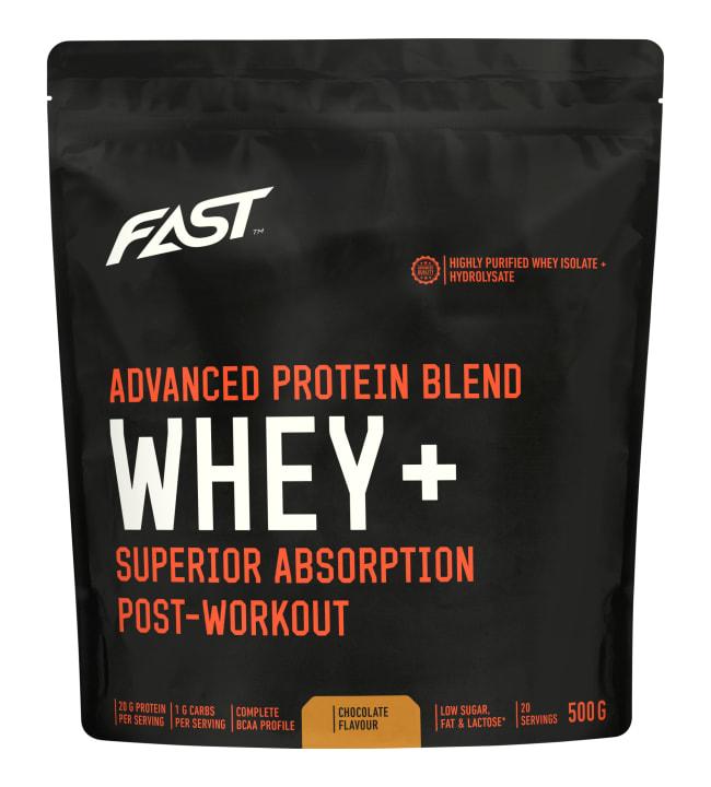 Fast Whey+ Suklaa 500g proteiinijauhe