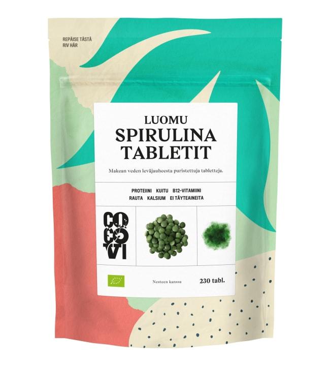 Cocovi luomu spirulina 115 g 230 kpl tabletit