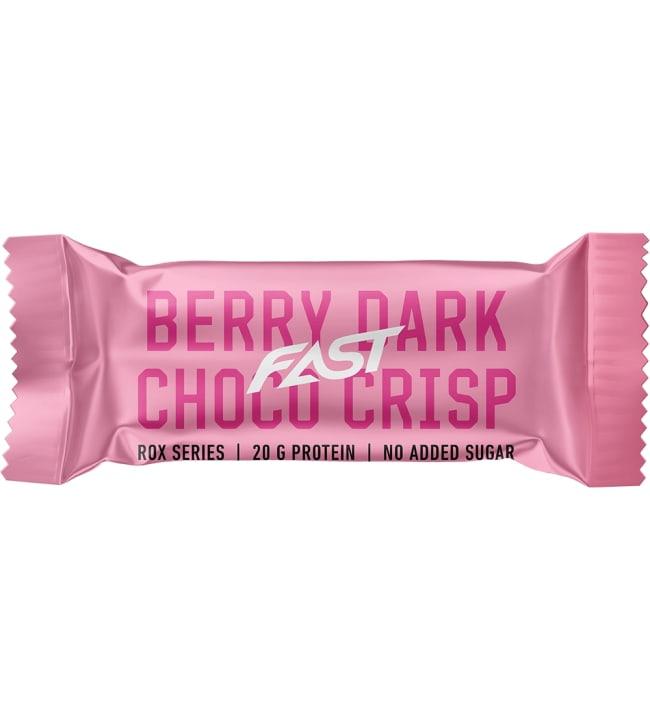 Fast Rox Berry Choco Crisp 55g proteiinipatukka