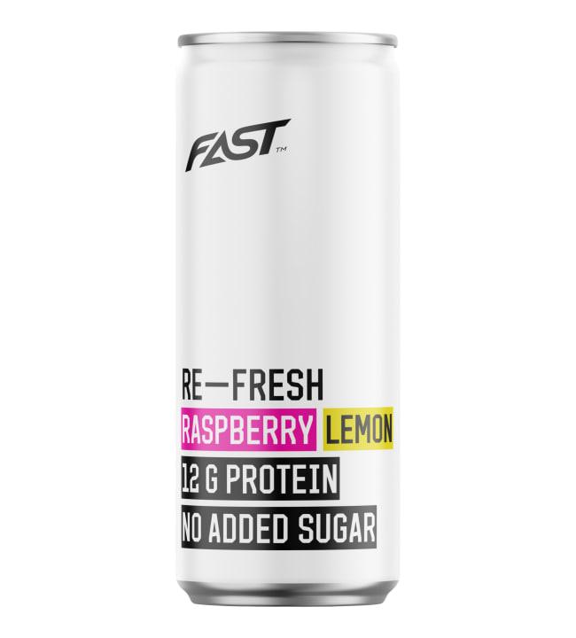 Fast Re-Fresh Raspberry-Lemon 330 ml proteiinipitoinen virvoitusjuoma