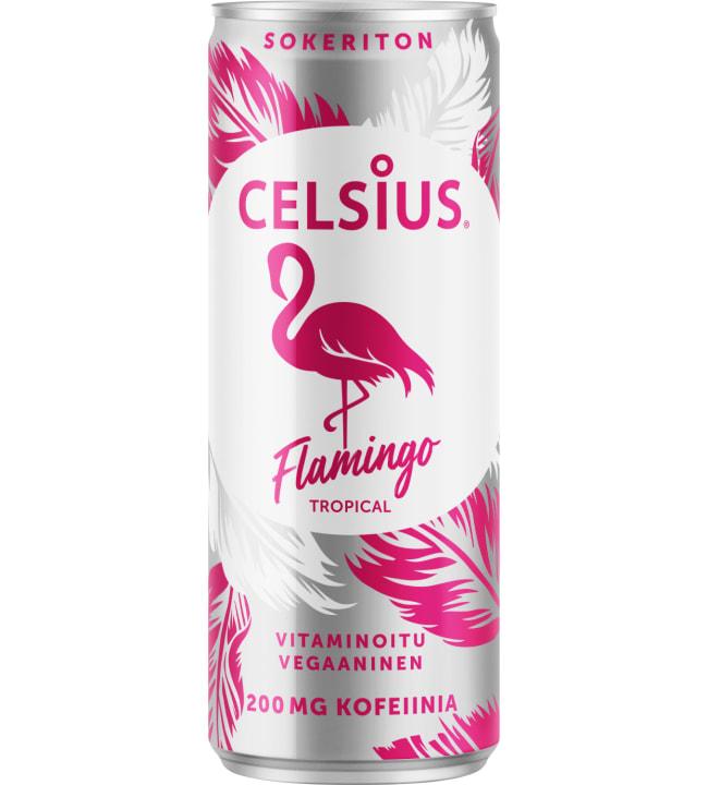 Celsius Flamingo 330 ml virkistysjuoma