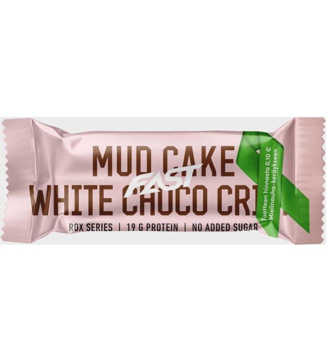 Fast Rox Mud Cake White Choco Crisp 55 g proteiinipatukka