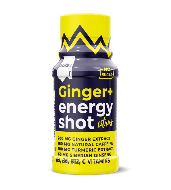 Puls Nutrition Sitrus+Inkivääri 60 ml energiashotti