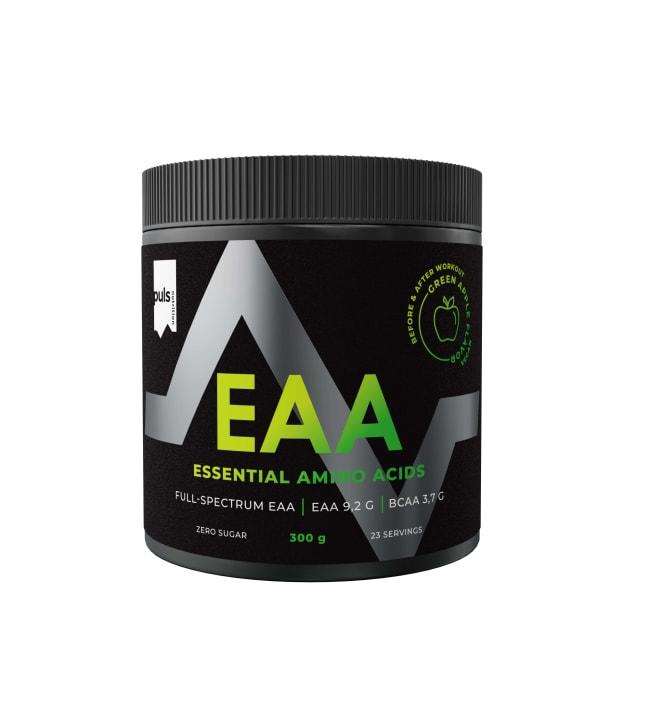 Puls Nutrition EAA Vihreä Omena 300 g aminohappojauhe