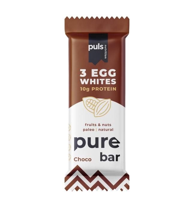 Puls Nutrition Pure Suklaa 50 g munanvalkuais-proteiinipatukka