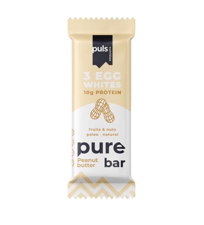 Puls Nutrition Pure Peanut Butter 50 g munanvalkuais-proteiinipatukka,