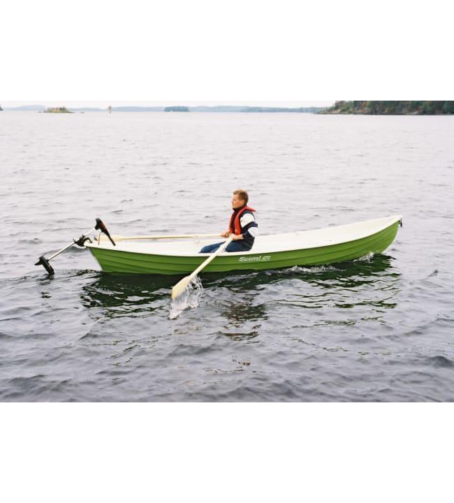 Suomi 470 vihreä 1-kuorimalli soutuvene