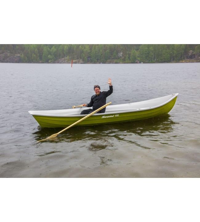 Suomi 480 vihreä vene