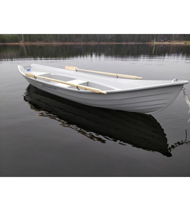 Suomi 480 harmaa / harmaa 2-kuori soutuvene