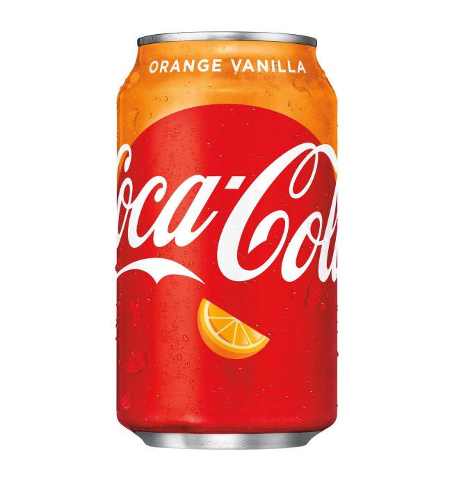 Coca-Cola Orange Vanilla 0,355 l virvoitusjuomatölkki