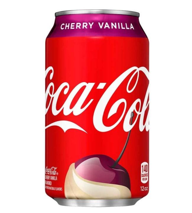 Coca-Cola Cherry Vanilla 0,355 l virvoitusjuomatölkki