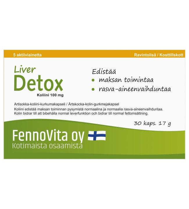 Fennovita Liver Detox 30 kaps. ravintolisä