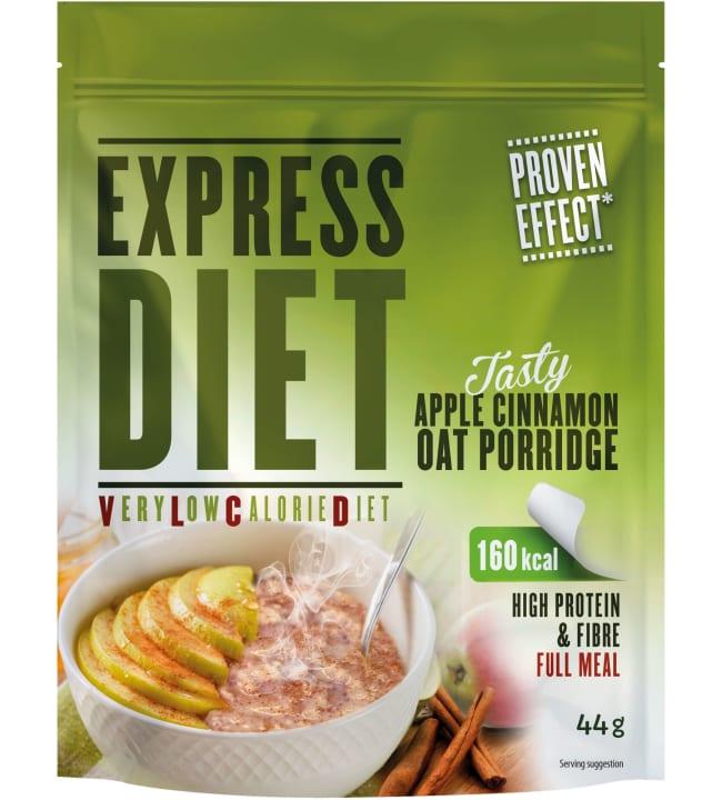 Express Diet 44 g VLCD omena-kanelikaurapuuro (soija)