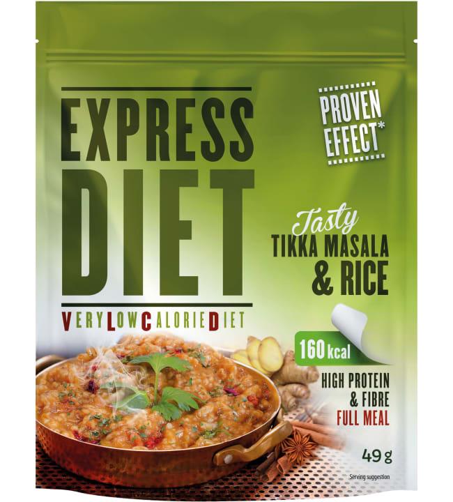 Express Diet 49 g VLCD Tikka Masala&riisi