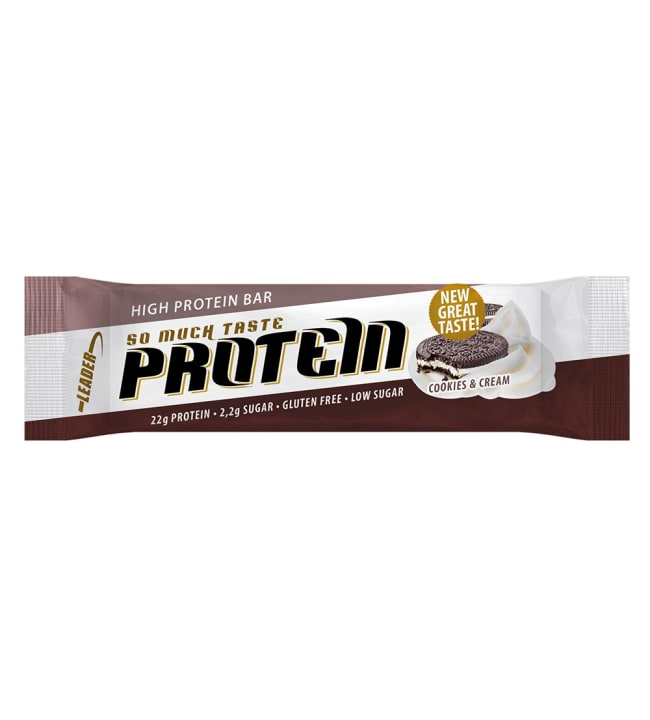 Leader So Much Taste Cookies&Cream 61 g proteiinipatukka