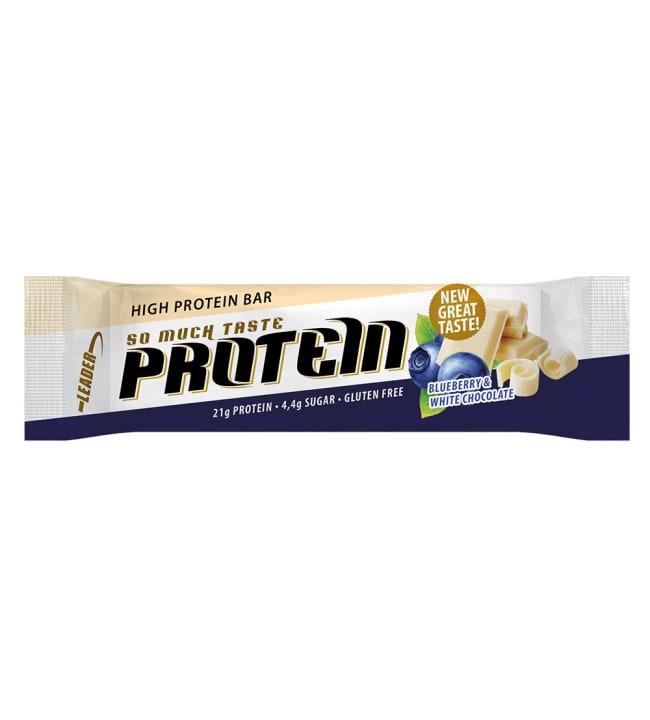 Leader So Much Taste 61 g mustikka-valkosuklaa proteiinipatukka