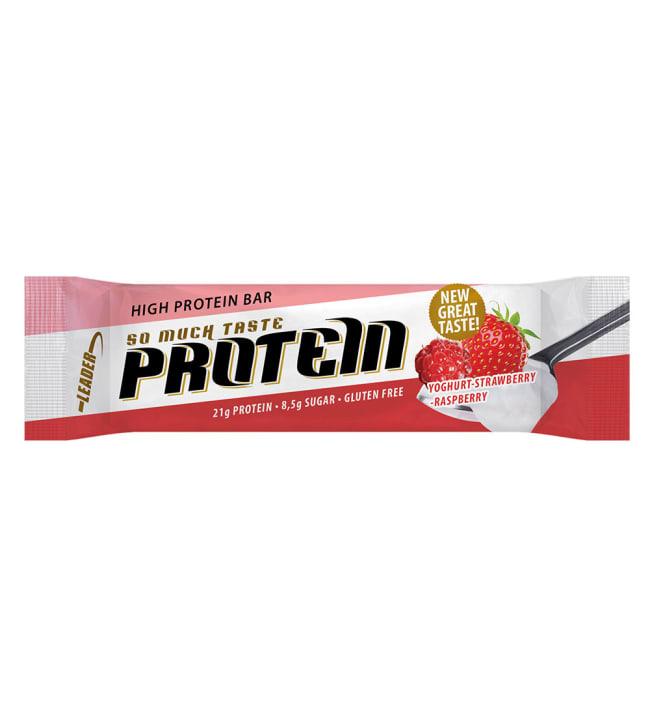 Leader So Much Taste Jogurtti-Mansikka-Vadelma 61 g  proteiinipatukka