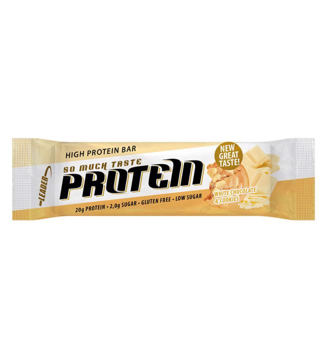 Leader So Much Taste Valkosuklaa-Keksi 61 g proteiinipatukka