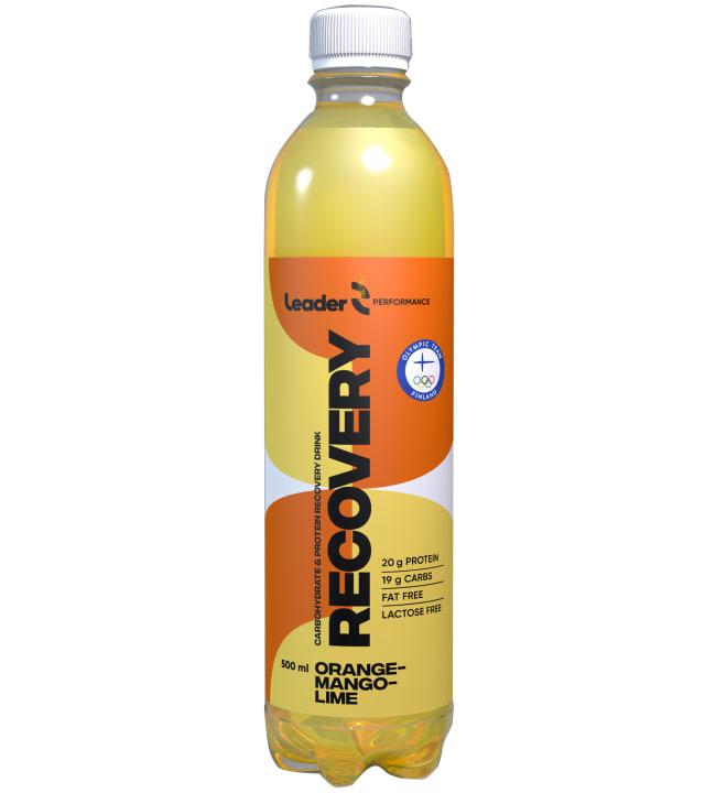 Leader Reco Appelsiini-Mango-Lime 500 ml palautusjuoma