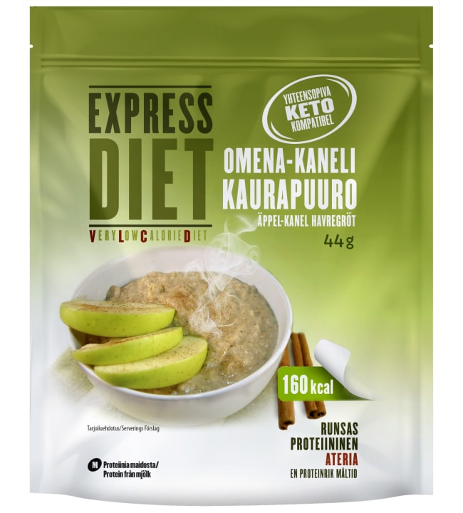 Leader Express Diet 44 g VLCD omena-kanelikaurapuuro (maito)