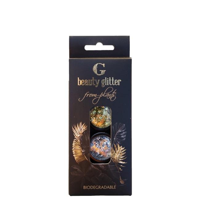 G Beauty Silver & Gold bioglitter