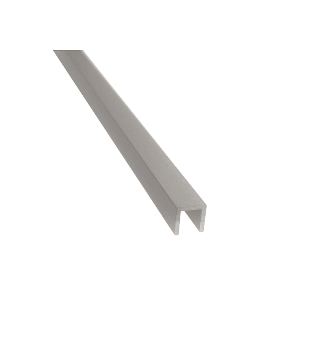 Warma 10 x 10 mm alumiini u-lista