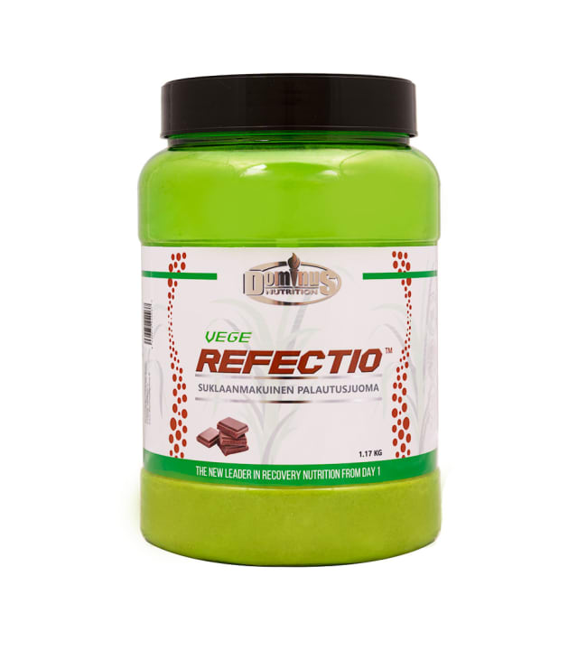 Dominus Nutrition Vege Refectio Suklaa 1,17 kg palautusjuoma