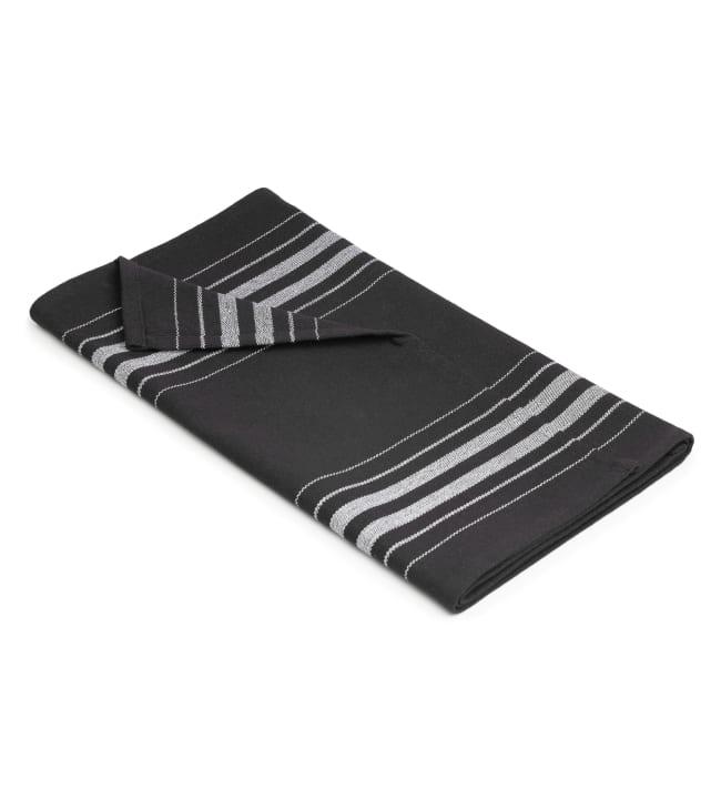 Lesswaste musta-valkoinen 45x150 cm laudeliina