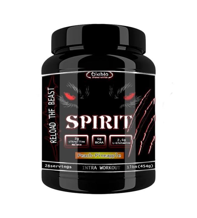 Diablo Nutrition Spirit Peach-Pineapple 454 g intrajuomajauhe