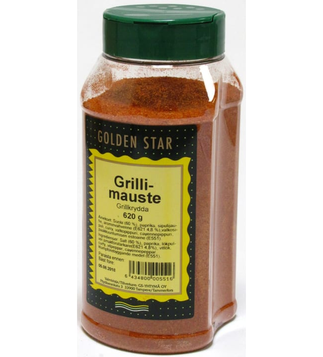 Golden Star 620 g grillimauste