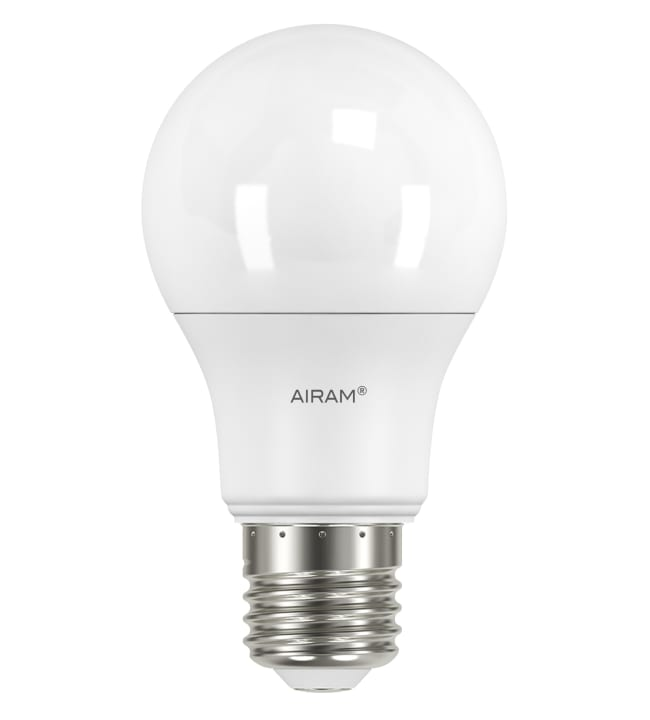 Airam 4-pack E27 1060lm ledvakiolamppu