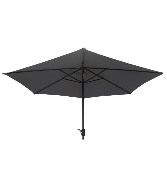 Alumiini 3 m aurinkovarjo