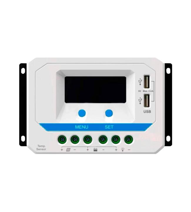 Brightsolar ViewStar 30A säädin LCD-näytöllä