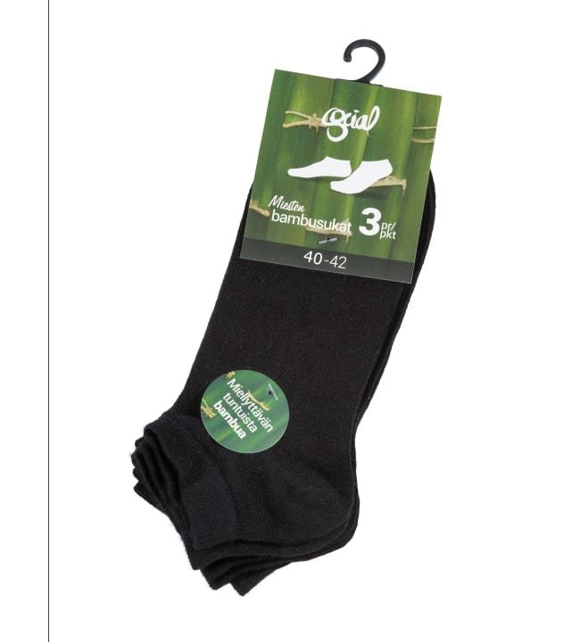 Social Underwear 3-pack miesten sneaker-bambusukat