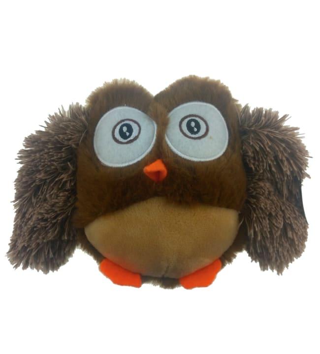 Teddypet 13 cm ruskea pöllö