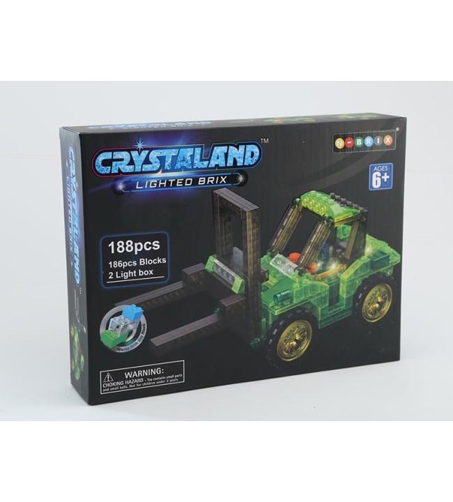 Crystaland 188 osainen trukki