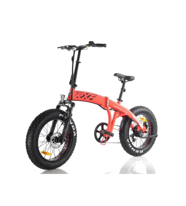 Little Fatbike RXF oranssi sähköpyörä