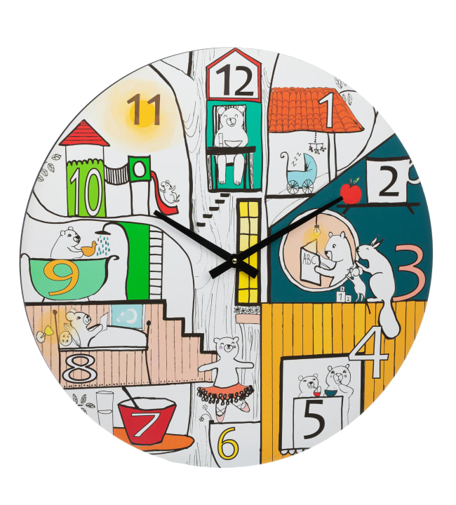 Kotoilu Lasten Päivä 60 cm kello