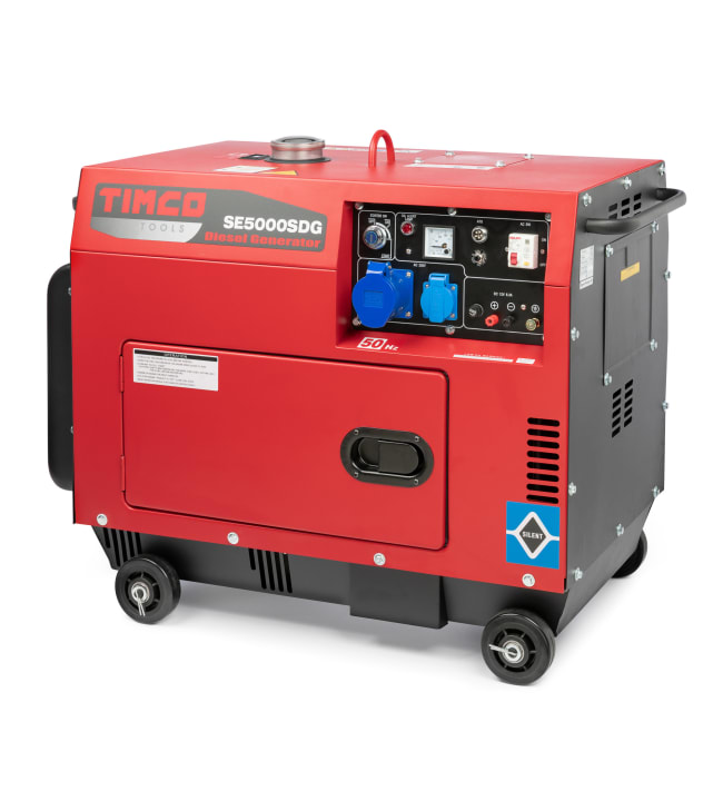 Timco TSE5000SDG 400V diesel aggregaatti