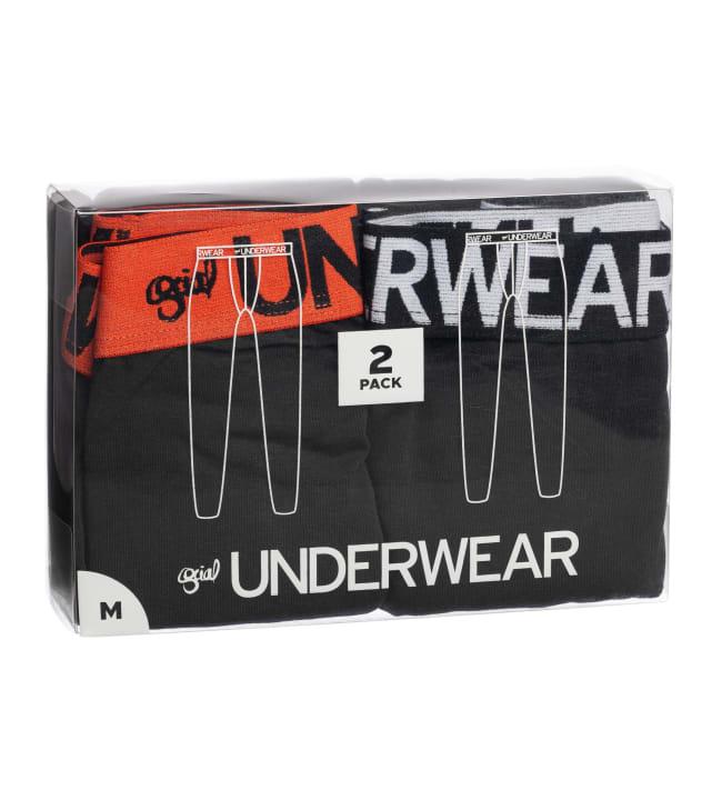 Social Underwear miesten 2-pack pitkät alushousut