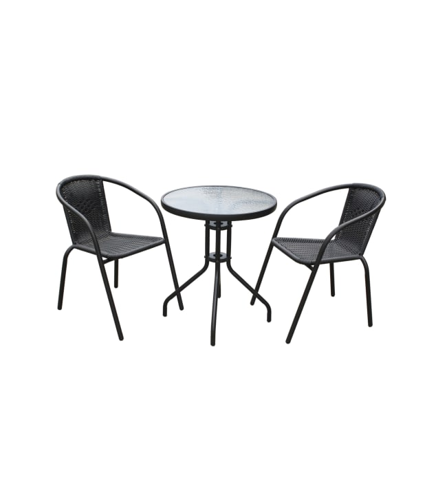 Bistrosetti pöytä ja kaksi tuolia
